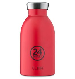 24Bottles Clima bottle 330ml Thermosfles Hot Red 24Bottles