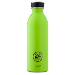 24Bottles Urban Bottle 500ml waterfles Lime Green