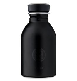 24Bottles Urban Bottle 250ml Tuxedo Black