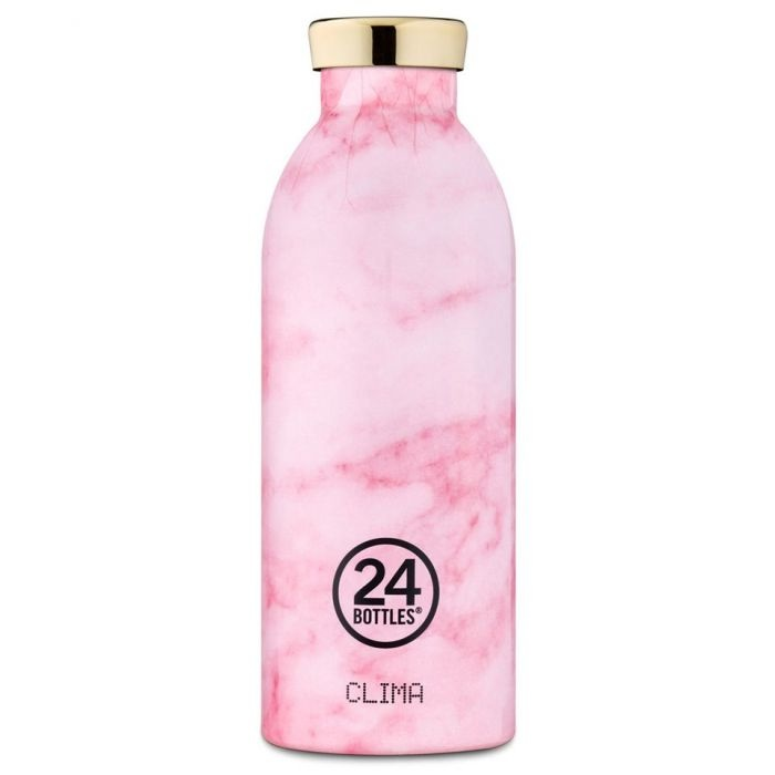 24Bottles Clima Bottle 050 500ml Thermosfles Pink Marble