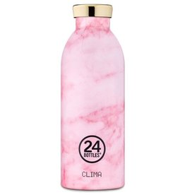 24Bottles Clima Bottle 050 500ml Pink Marble