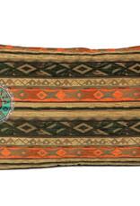 Boho Esperanza Kussens Boho Kussen Mediterraan Groen Oranje Oker 50x70cm Incl.binnenkussen