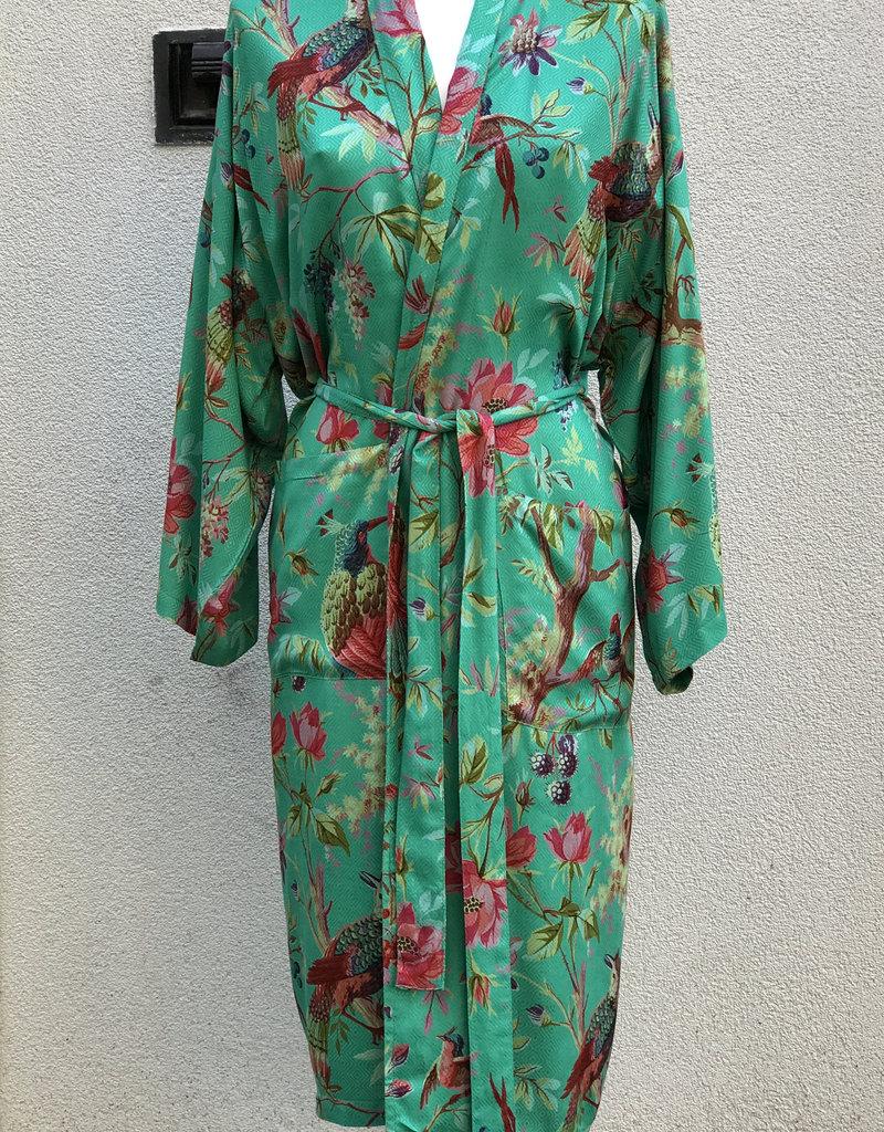 Imbarro Kimono Royal Paradise Turquoise Onesize