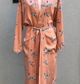 Imbarro Kimono Swinging Bird Zalmroze One SizeSi