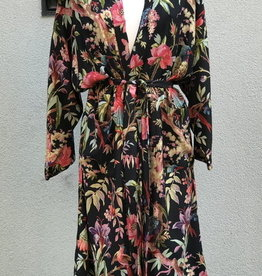 Imbarro Kimono Royal Paradise Black One Size