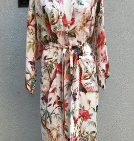 Imbarro Kimono Royal Paradise  White Onesize