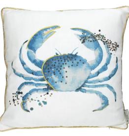 Kussen met Crab Polyester 45x45cm