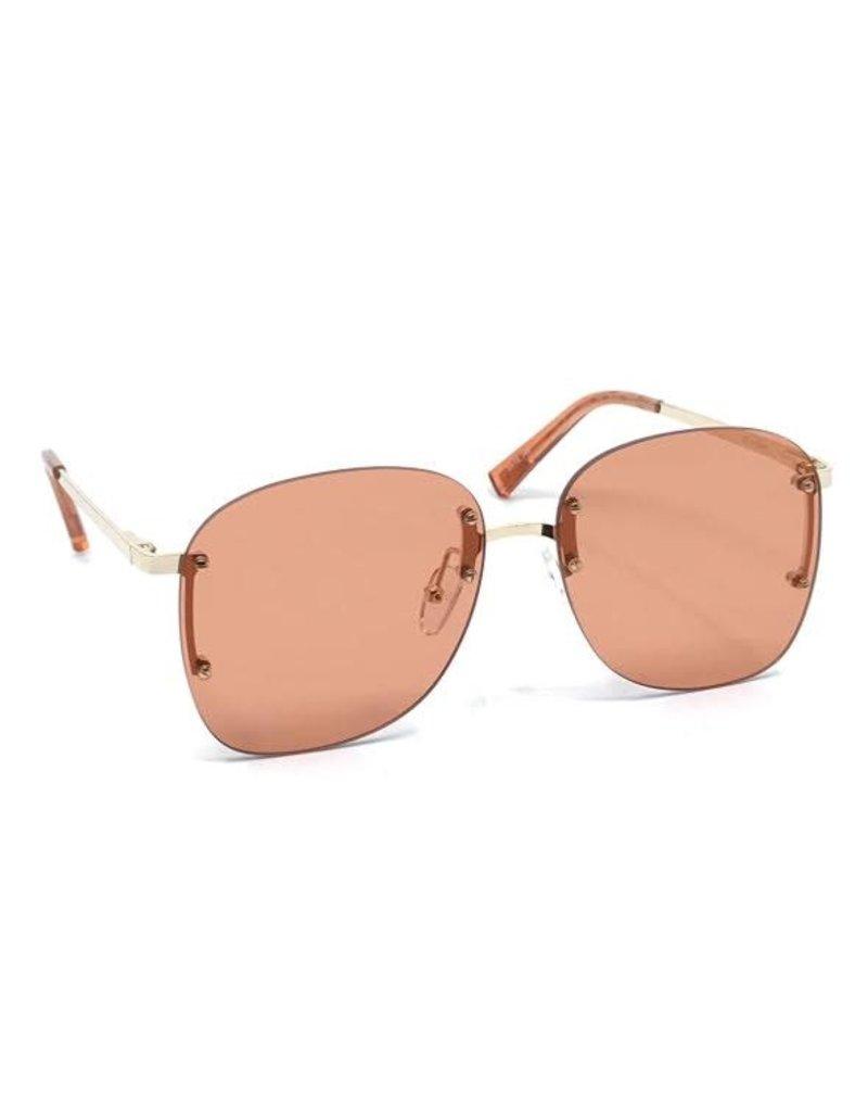 Le Specs Le Specs Skyline Bright Gold/Blue to Pink Grad