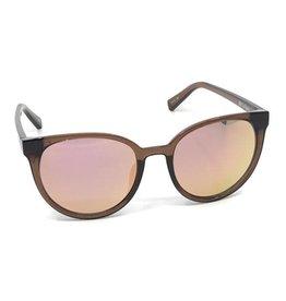 Le Specs Le Specs Armada Mocha/Peach Mirror