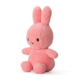 Nijntje/Miffy Miffy Sitting Terry Pink 23cm