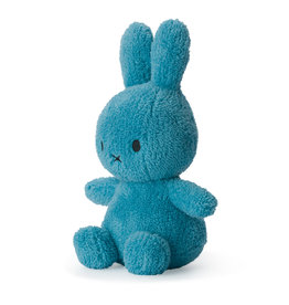 Nijntje/Miffy Miffy Sitting Terry Ocean Blue 23cm