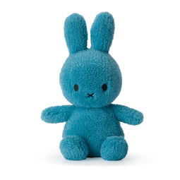 Nijntje/Miffy Miffy Sitting Terry Ocean Blue 23cm
