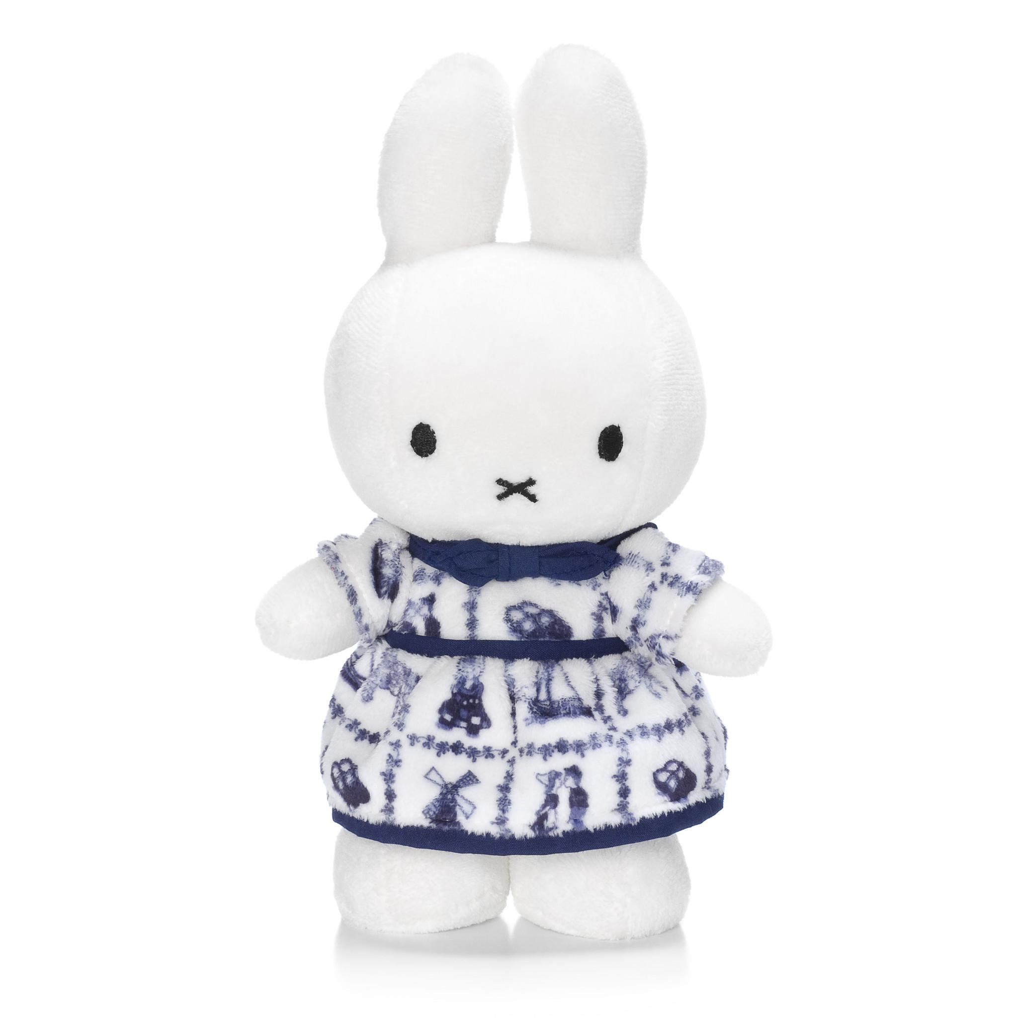 Nijntje/Miffy Miffy delft blue dress -  24 cm