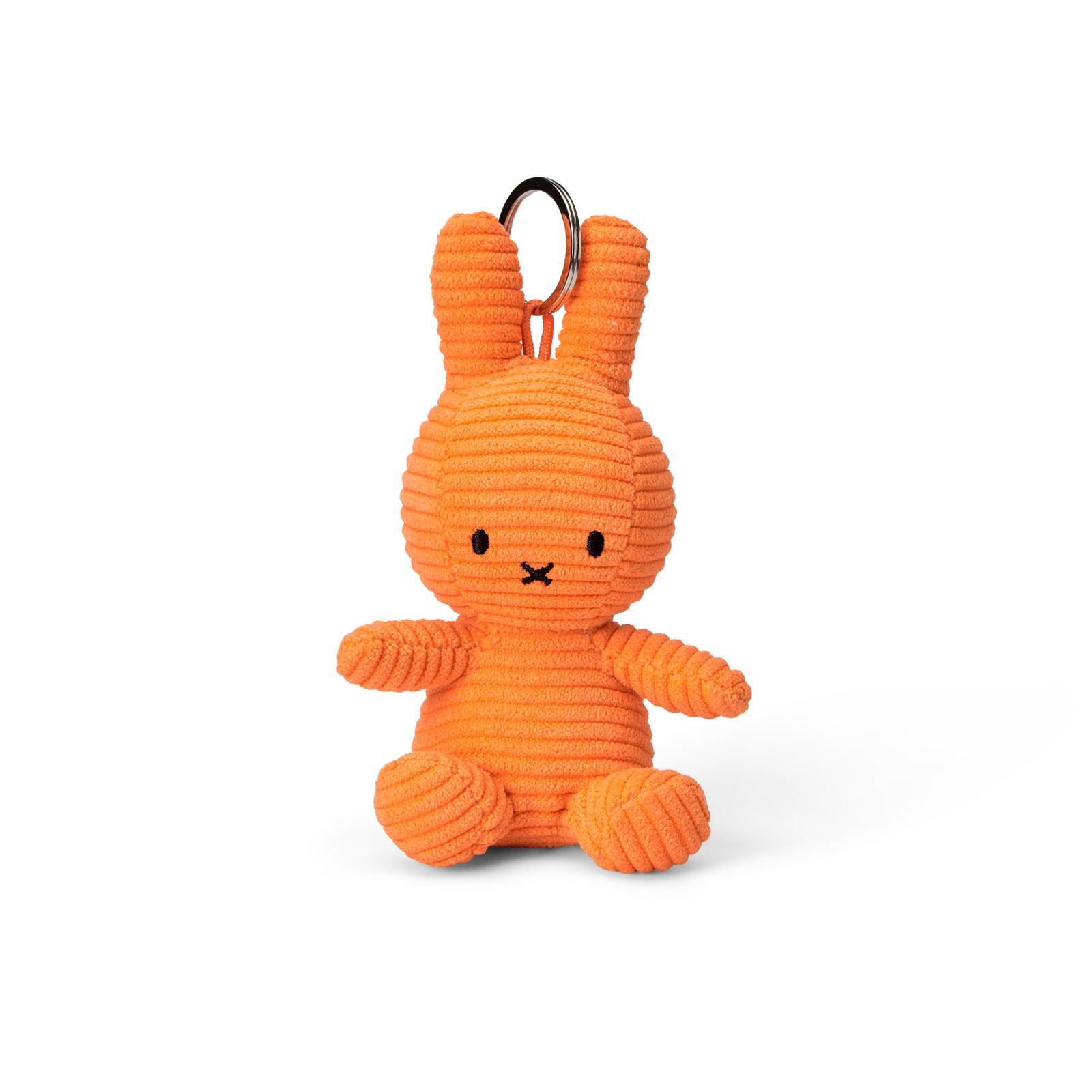 Nijntje/Miffy/Snuffy Miffy Keychain Corduroy Orange 10cm