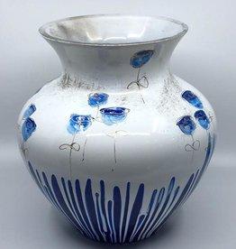 Gilazi Buikvaas Blue Glasses on Strings H36cm