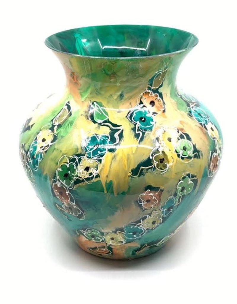 Gilazi Buikvaas Jade/Gold with Flowerstrings H48cm