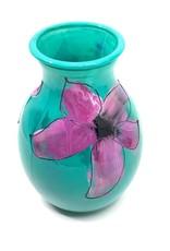Gilazi mini Vaasje Jade Purple Flower H19.5cm