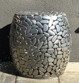 Ferdie Stool Metal 47x47cm
