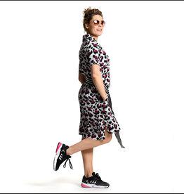 Sneakerdresses Sneakerdresses Dress Panther Pink 014 S tm XXL