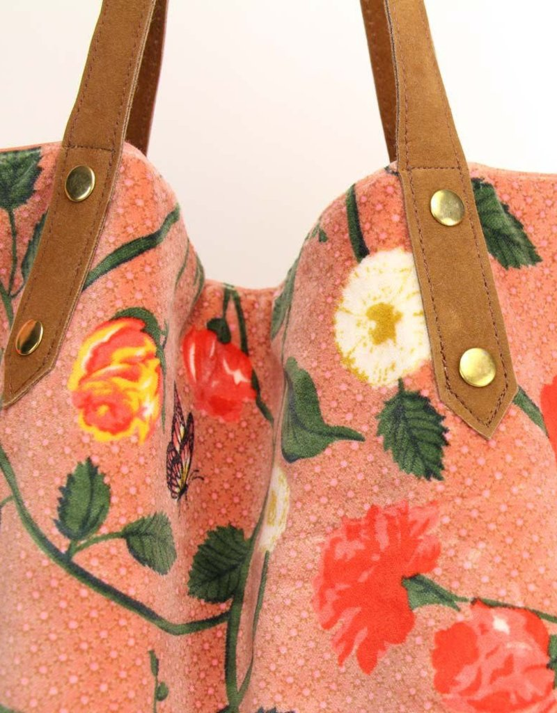 Imbarro Home & Fashion Imbarro Shopper Eva Coral 52x55cm