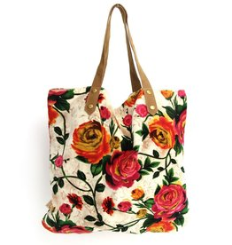 Imbarro Home & Fashion Imbarro Shopper Rosie Ecru 52x55cm