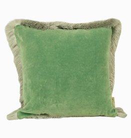 Imbarro Home & Fashion Imbarro Cushion Silvercloud Green 45x45cm Incl.Binnenkussen