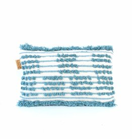 Imbarro Home & Fashion Imbarro Cushion Blanca Aqua 30x50cm Incl.Binnenkussen