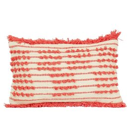 Imbarro Home & Fashion Imbarro Cushion Blanca Coral 30x50 cm Incl.Binnenkussen