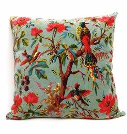 Imbarro Home & Fashion Imbarro Cushion Paradise XL Turq. 60x60 cm Incl.Binnenkussen