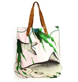 Imbarro Home & Fashion Imbarro Shopper Fishes together Pink 47x52cm
