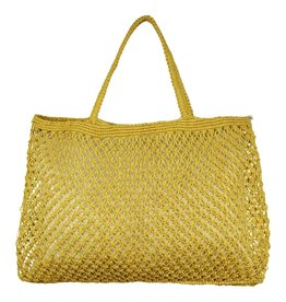 Imbarro Home & Fashion Imbarro Shopper Wave Ocre 44x60cm
