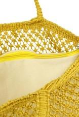 Imbarro Home & Fashion Imbarro Shopper Wave Ocre 44x60cm