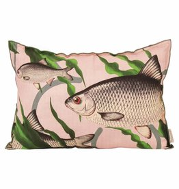 Imbarro Home & Fashion Imbarro Cushion Fishes together Pink 40x60cm Incl.Binnenkussen