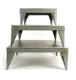 Imbarro Home & Fashion Imbarro Table Rosie Grey, set of 3 20,30 en 40cm