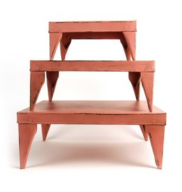 Imbarro Home & Fashion Imbarro Table Rosie Salmon, set of 3 20,30 en 40cm