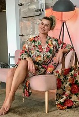 Imbarro Home & Fashion Imbarro Kimono Rosie Royal Onesize