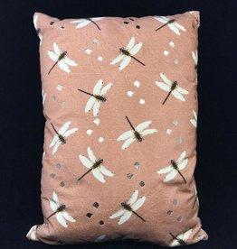 GoRound kussen Dragonfly Pink 35x50cm incl.binnenkussen
