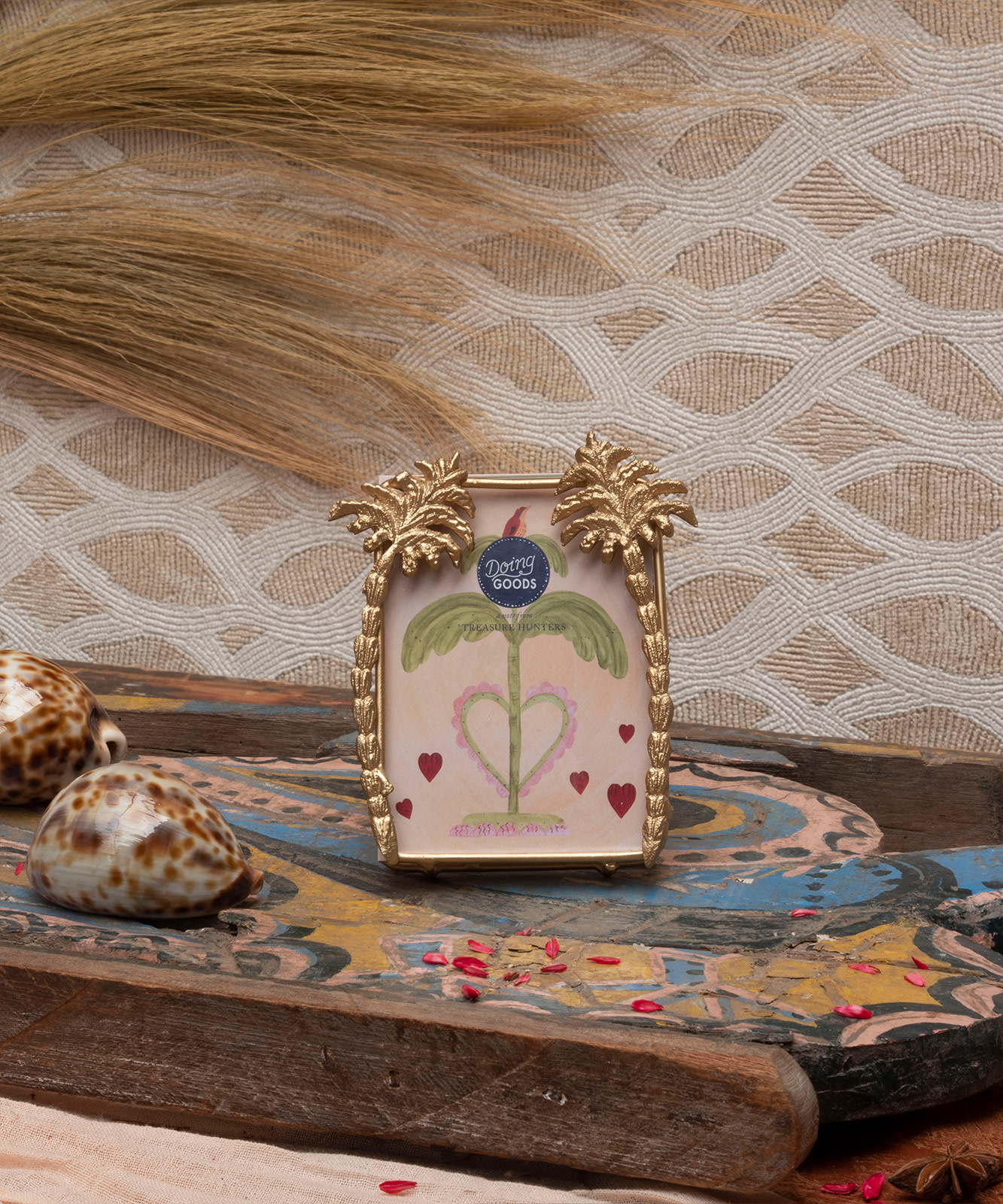 Doing Goods Doing Goods Heritage Palm Photo Frame Small