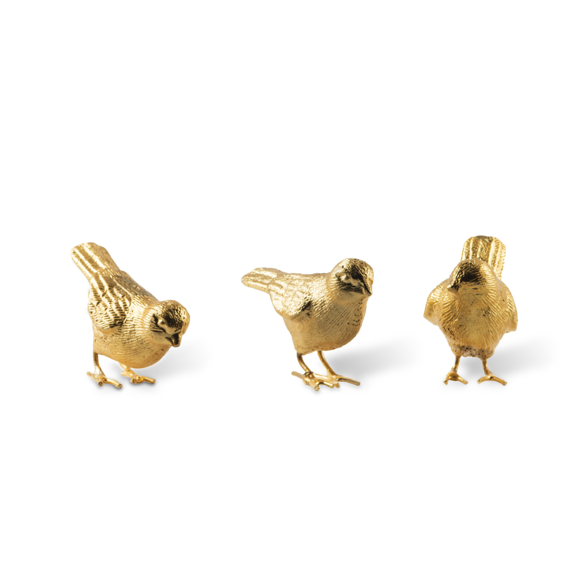 Pols Potten Pols Potten Sparrows Gold Set of 3