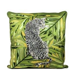 DigaC.Kussen Leopard Cotton 50x50cm incl.binnenkussen