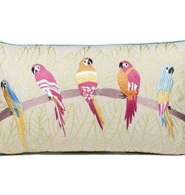 DigaC.Kussen  Parrot Multicolor Co 60x35cm incl.binnenkussen
