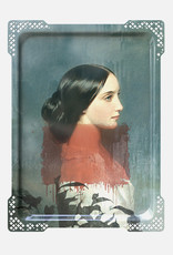 IDA#1 - Rectangular tray Vrouw rood,Ibride  65 x 47 cm