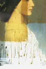 IDA#3- Rectangular tray Vrouw Geel,Ibride 65 x 47 cm