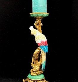 Kandelaar met Kaketoe Multicolor