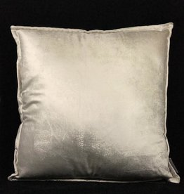 DigaC Cushion Almond plain velvet 50x50cm Incl.binnenkussen