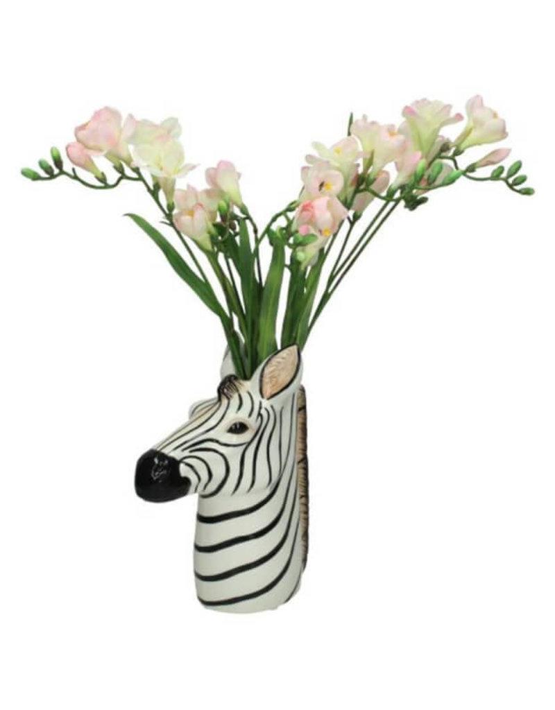 Vase Zebra Fine Earthenware