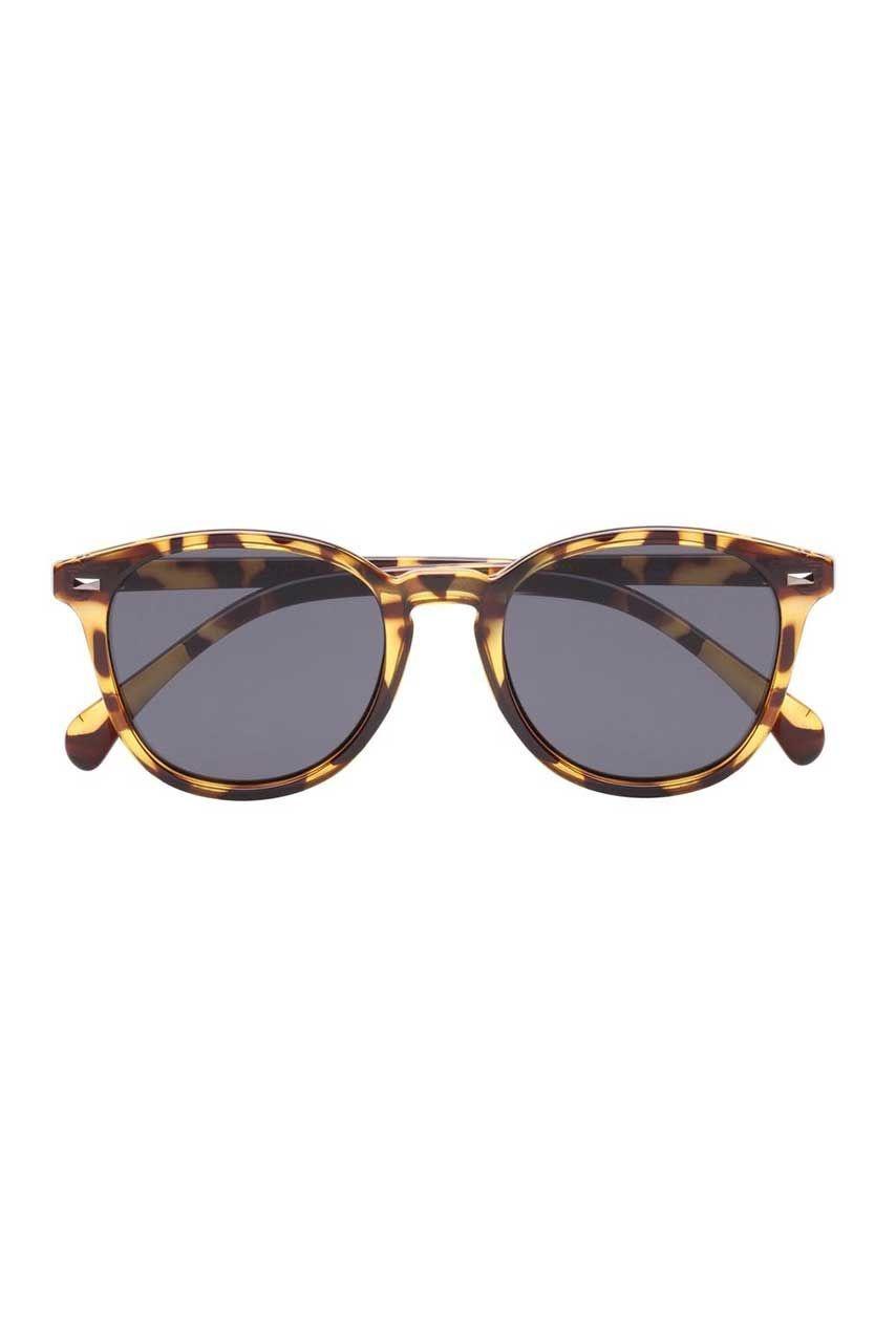 Le Specs Bandwagon-Syrup Tortoise Smoke Mono Lens
