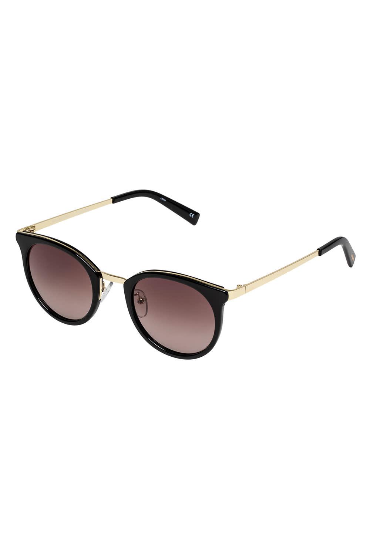 Le Specs No Lurking-BLACK W/ BROWN GRAD