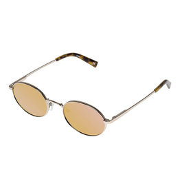 Le Specs Poseidon-BRIGHT GOLD W/ ROSE MIRROR