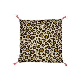 Doing Goods Doing Goods Leopard Pillow 60x60cm Incl.binnenkussen